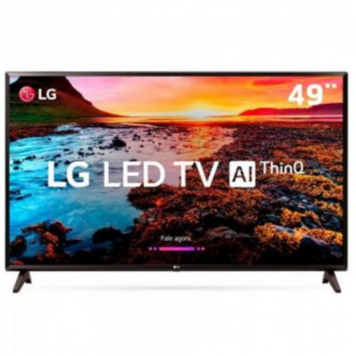 "Smart TV LED 49"" LG 49LK5750PSA, ThinQ AI, WI-FI, HDR 10 Pro, HDMI, USB"